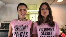 Victoria's Secret Angels Present Airline Safety with Adriana Lima, Alessandra Ambrosio, and More