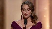 Natalie Portman reçoit l'Oscar de la meilleure actrice pour Black Swan