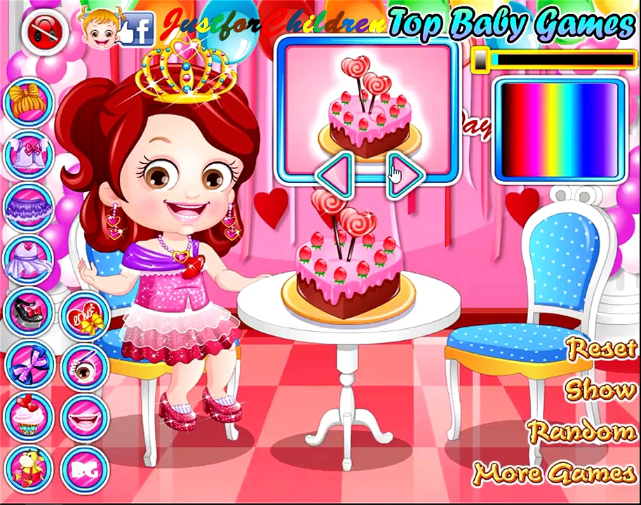 Baby Hazel Games | Dress up Games – VALENTINE | Baby Games | Free Games | Games for Girls