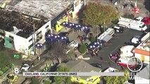 États-Unis : incendie meurtrier à Oakland