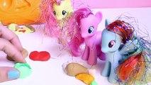 My Little Pony マイリトルポニー Play Doh Pizza Sandwich Hot Dog MLP Mi P