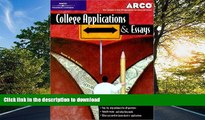 Hardcover College Applications   Essays 4th ed (Arco College Applications   Essays)  Kindle eBooks