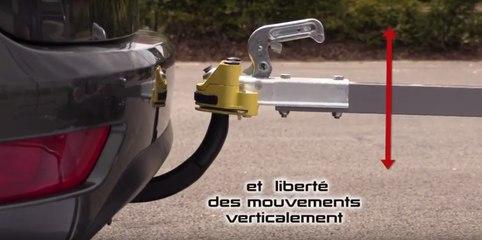 Antivol remorque tête d'attelage permanent MOTTEZ sur FeuVert.fr