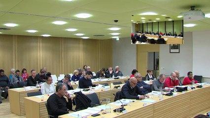 Conseil municipal du 5 decembre 2016