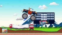 Monster Trucks For Children | Monster Truck Video For Kids | Monster Truck Stunts | Kids Truck Video