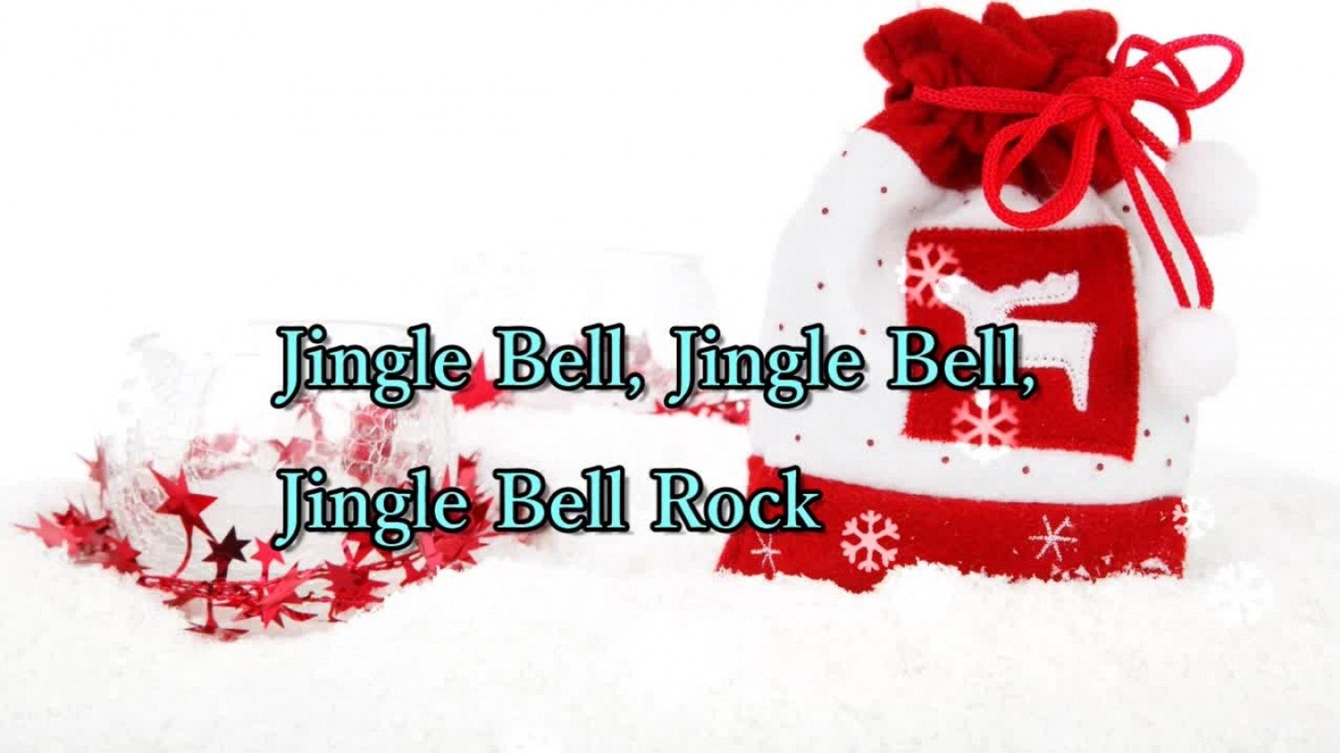 Christmas Songs - Jingle Bell Rock - Lyrics Video