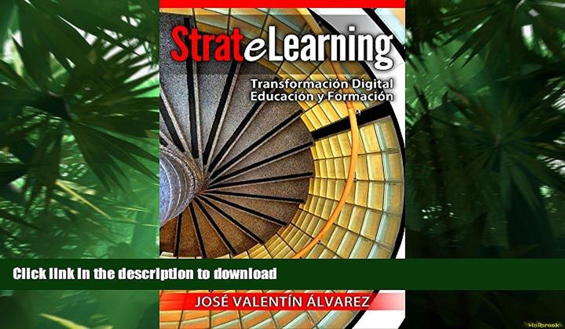 Hardcover StrateLearning: Transformación Digital de la Educación y Formación (Spanish Edition)