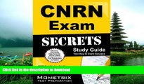Pre Order CNRN Exam Secrets Study Guide: CNRN Test Review for the Certified Neuroscience