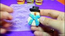 Play Doh Easy Christmas Decorations Santa Klaus - Christmas Angel -Snowman