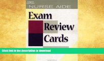 Pre Order Nurse Aide Exam Review Cards CD Package (Test Preparation) Full Book