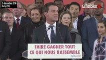 L'intégralité du discours de Manuel Valls, candidat à la présidentielle 2017