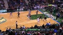 Giannis Antetokounmpo Behind the Back Pass | Nets vs Bucks | December 3, 2016 | 2016-17 NBA Season