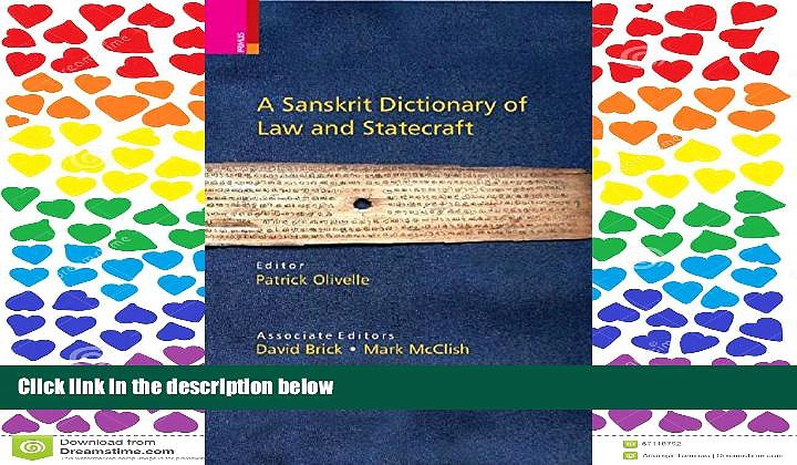 READ PDF [DOWNLOAD] A Sanskrit Dictionary of Law and Statecraft BOOOK ONLINE