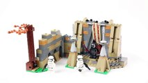 Lego Star Wars 75139 Battle on Takodana - Lego Speed Build