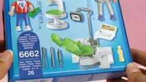 """Dentiste Playmobil – Playmobil CityLife """"Chez le dentiste"""" unboxing et review"""