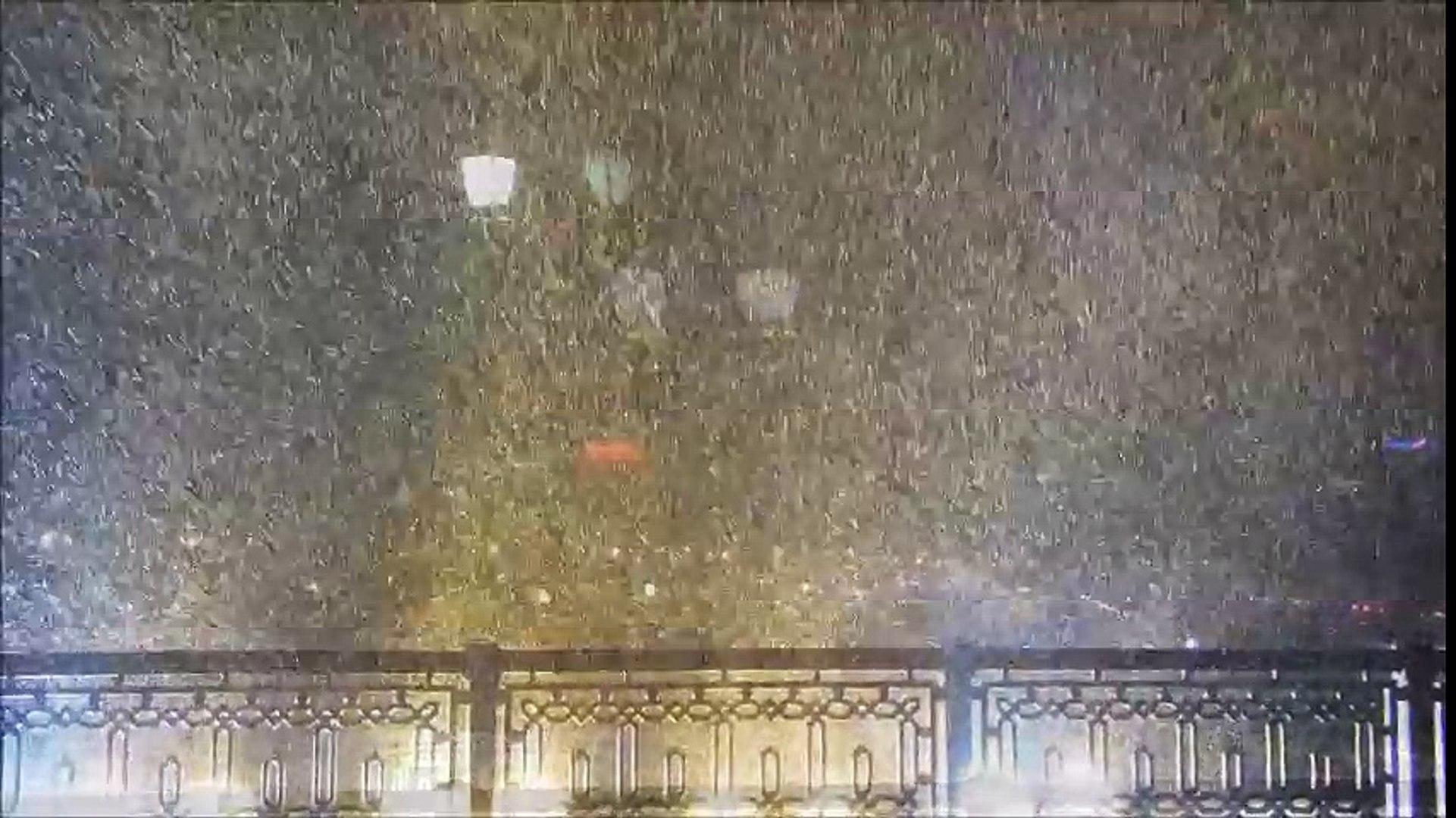 Самая сильная метель 5 декабря 2016 года или танец снежинок с ветром