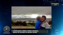 Companhia aérea leva para Curitiba menino que deveria ser entregue ao pai em Vitória
