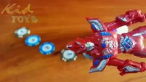 Transformers pure Action Vs Bacchus Energy Drink | Stop motion red plastic Transformers