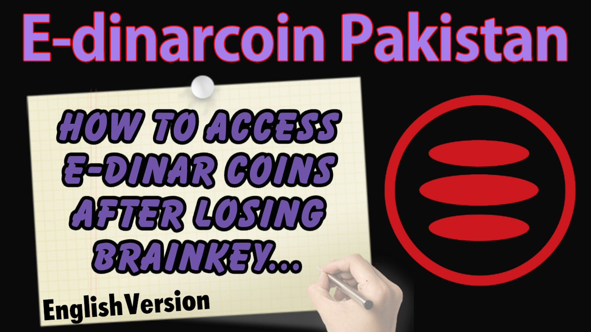 How to access e-dinar coins without brainkey - How to access your e-dinar coins from another account