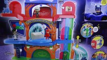 PJ Masks Headquarters Playset Gekko Catboy and Owlette at HQ Fight Romeo Luna Girl and Night Ninja