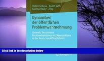 Online  Dynamiken der öffentlichen Problemwahrnehmung: Umwelt, Terrorismus, Rechtsextremismus und