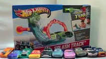 Color Changers Cars on Hot Wheels Splash Track Fun in the Tub Colour Changers Cars Play Set