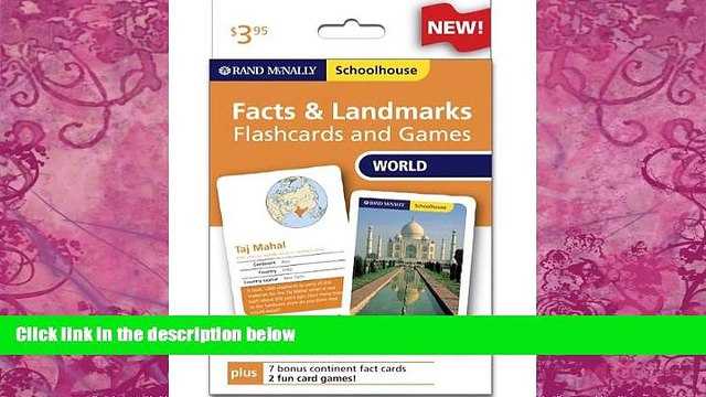 Online Rand McNally Rand Mcnally Schoolhouse World Facts   Landmarks Flashcards And Games