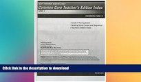 Read Book Scott Foresman Reading Street Common Core Teacher s Edition Index, Grade 4