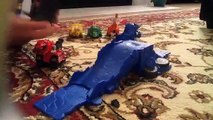 Dinotrux Ty Rux Tells Story, Builds For Friends