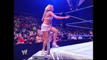Miss Jackie vs Dawn Marie Arm Wrestling Contest SmackDown 11.04.2004