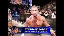 Charlie Haas With Miss Jackie vs Heidenreich SmackDown 11.18.2004