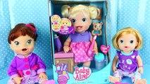 BABY ALIVE Doll Babys New Teeth with Brushy Brushy Baby Eating & Teething Toddler DisneyCarToys