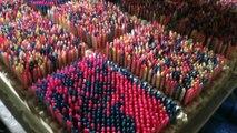 73000 bougies allumées sur un gateau ? Record du monde !
