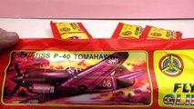 Spielzeug Flugzeug - fliegen mit Power Prop Flying Gliders Nr 2 und Nr 10