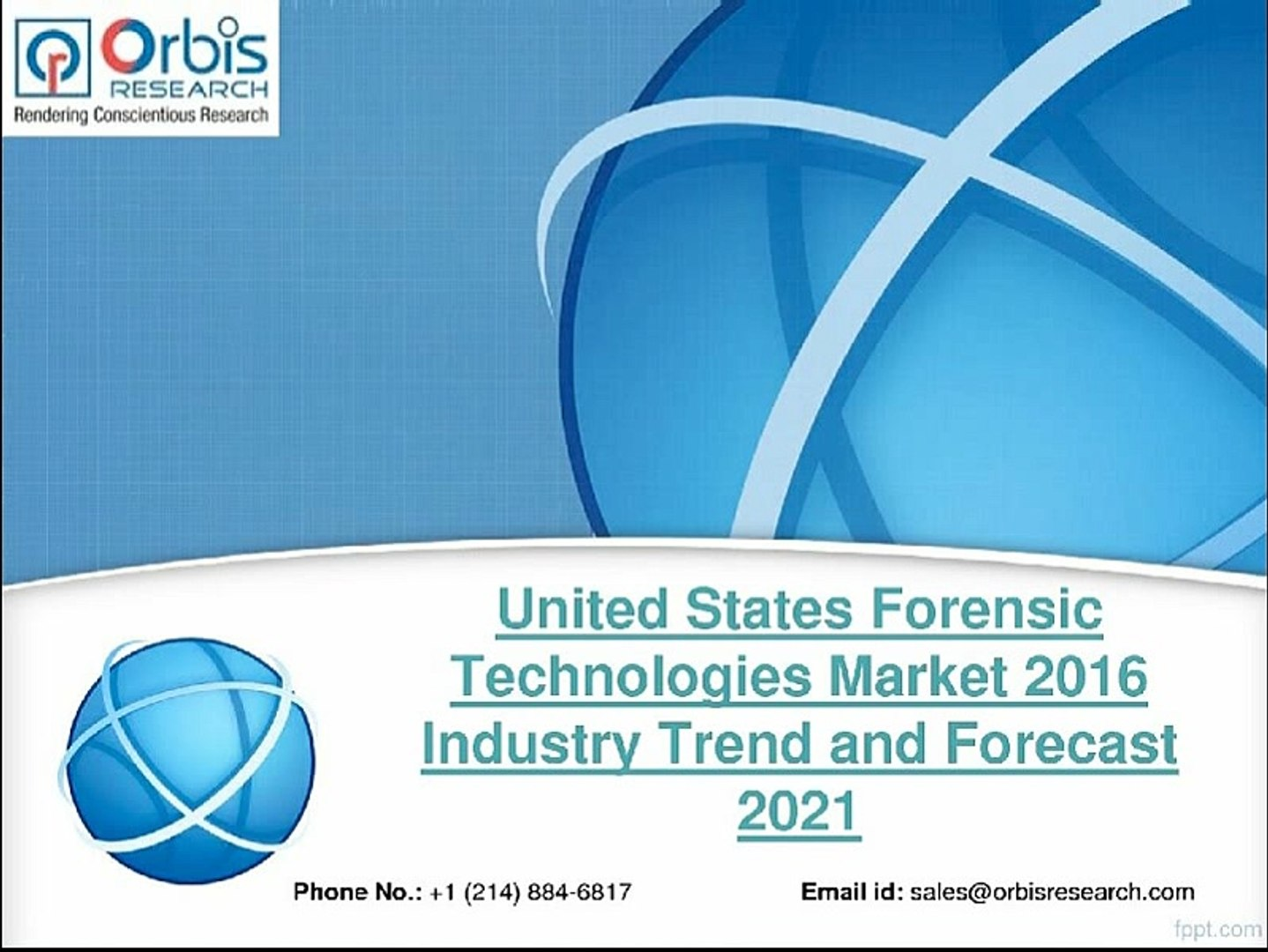 Latest News on United States Forensic Technologies Market 2016