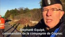Le commandant de gendarmerie explique les circonstances de l'accident