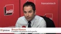 Benoît Hamon : «La candidature de Manuel Valls est la plus clivante qui soit»