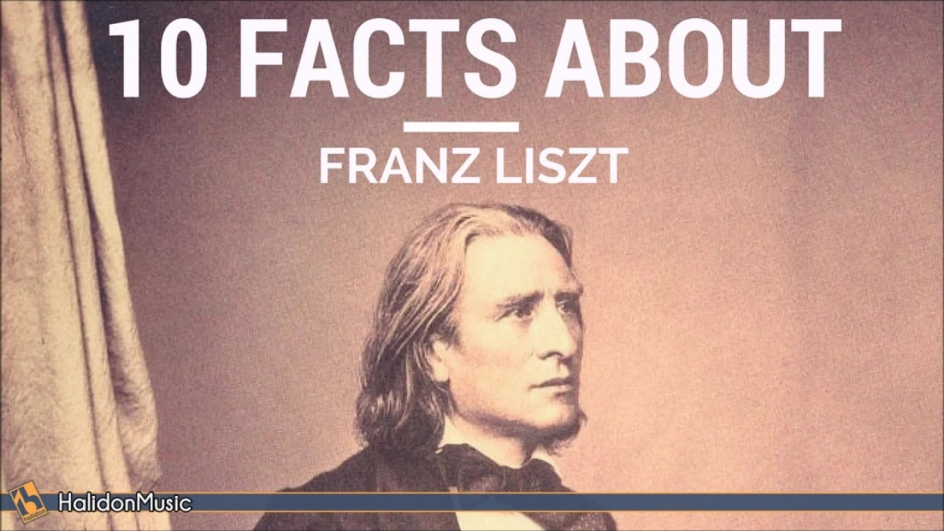 Giovanni Umberto Battel - 10 Facts About Franz Liszt | Classical Music  History