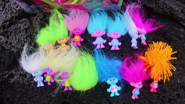Trolls Movie Toys! ENTIRE CASE of Poppy & Branch Surprise Blind Bags + BABY POPPY DOLL