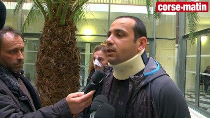 VIDÉO. Commerçant agressé à Ajaccio : rassemblement de soutien devant le tribunal