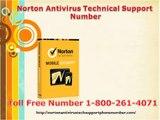 Norton Antivirus Technical Support Number -1-800-261-4071