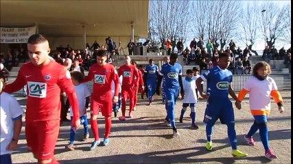 Vidéo Saint Marcellin - Estac Troyes score 0-2