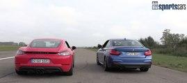 VÍDEO: Drag Race entre un Porsche 718 Cayman y un BMW M240i