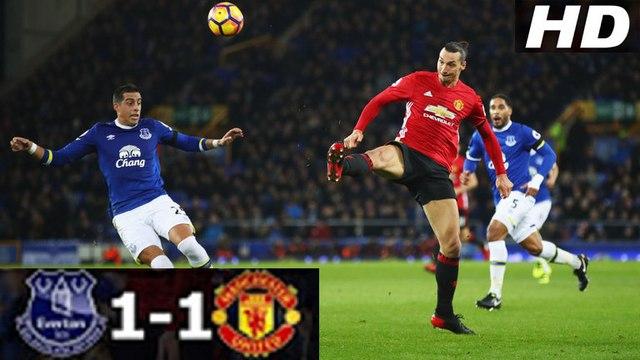 Everton vs Manchester United 1-1 | All Goals & Highlights | 04_12_2016 HD | [Công Tánh Football]