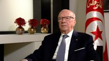 Tunisian president on the Arab Spring, foreign aid and Libya