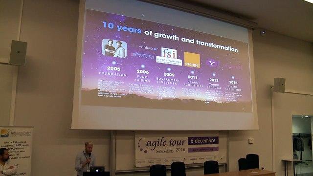 Frederic LEROY - Magnus NASLUND - Dailymotion, an agile Organization