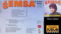 Semsa Suljakovic i Juzni Vetar - Verna u ljubavi (Audio 1982)