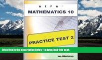 PDF [FREE] DOWNLOAD  AEPA Mathematics 10 Practice Test 2 BOOK ONLINE