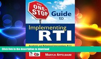 Read Book The One Stop Guide to Implementing RTI: Book On Book
