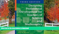 Pre Order Designing Professional Development for Teachers of Science and Mathematics  Kindle eBooks